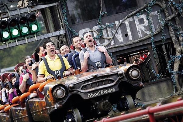 Rita Rollercoaster at Alton Towers