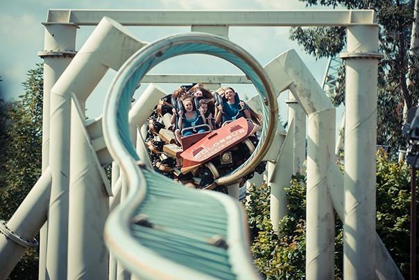 Collosus ride at Thorpe Park