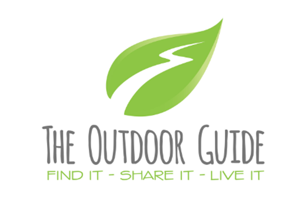 The outdoor guide leaf icon