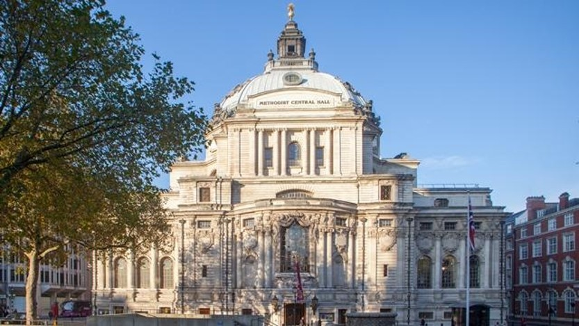A picture of central hall, westminster