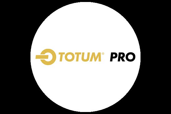 Circular TOTUM PRO logo