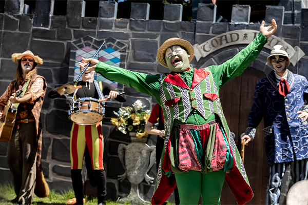 The wind in the willows being performed by theatre on kew