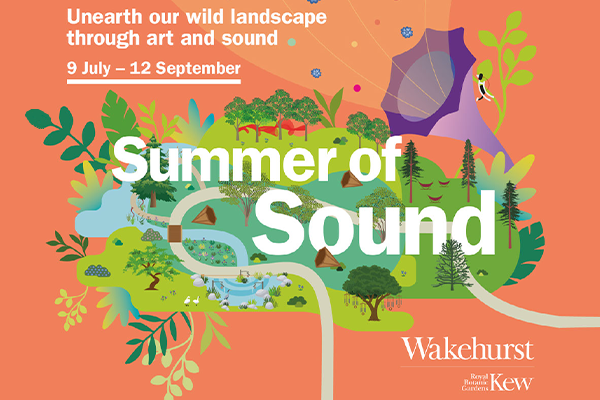 Summer of sound creative from Kew