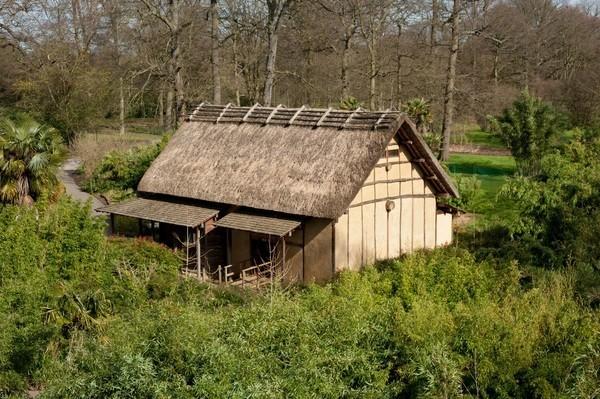 The minka house at kew gardens