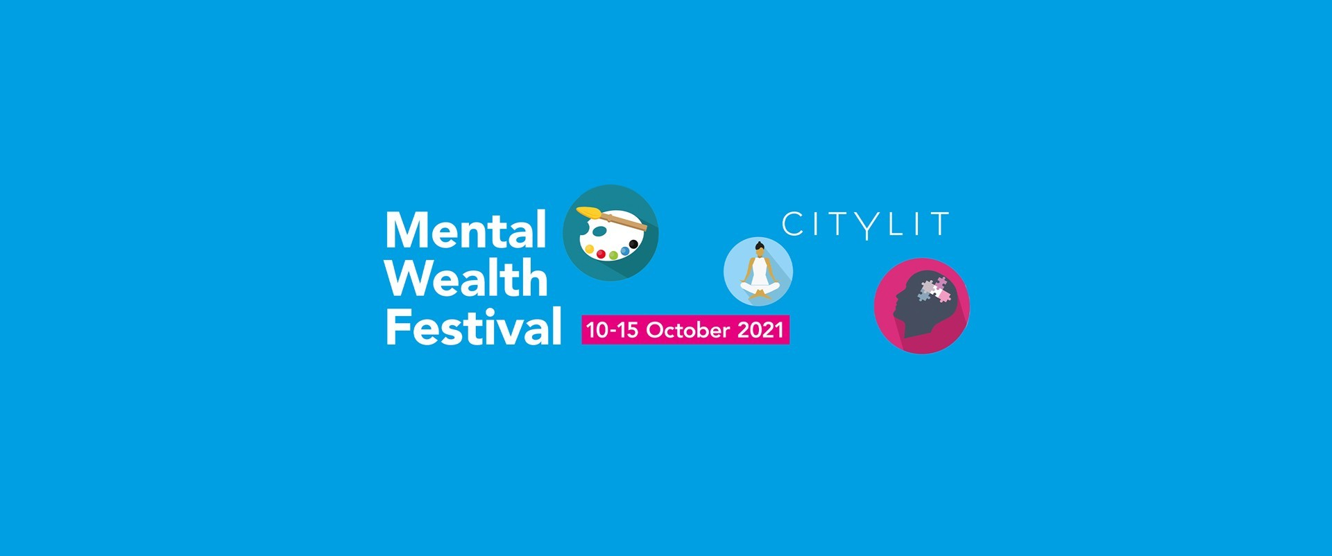 Mental Wealth Festival by City Lit branding