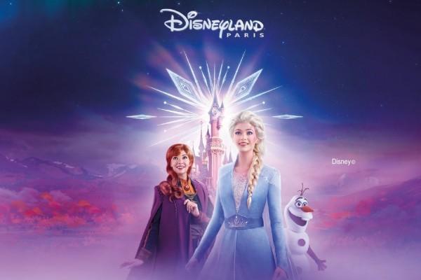 Magic Over Lake Disney: The Frozen Edition