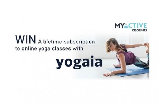 Yogaia | Lifetime subscription competition