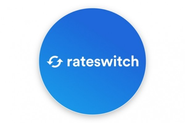 Blue circular rateswitch logo