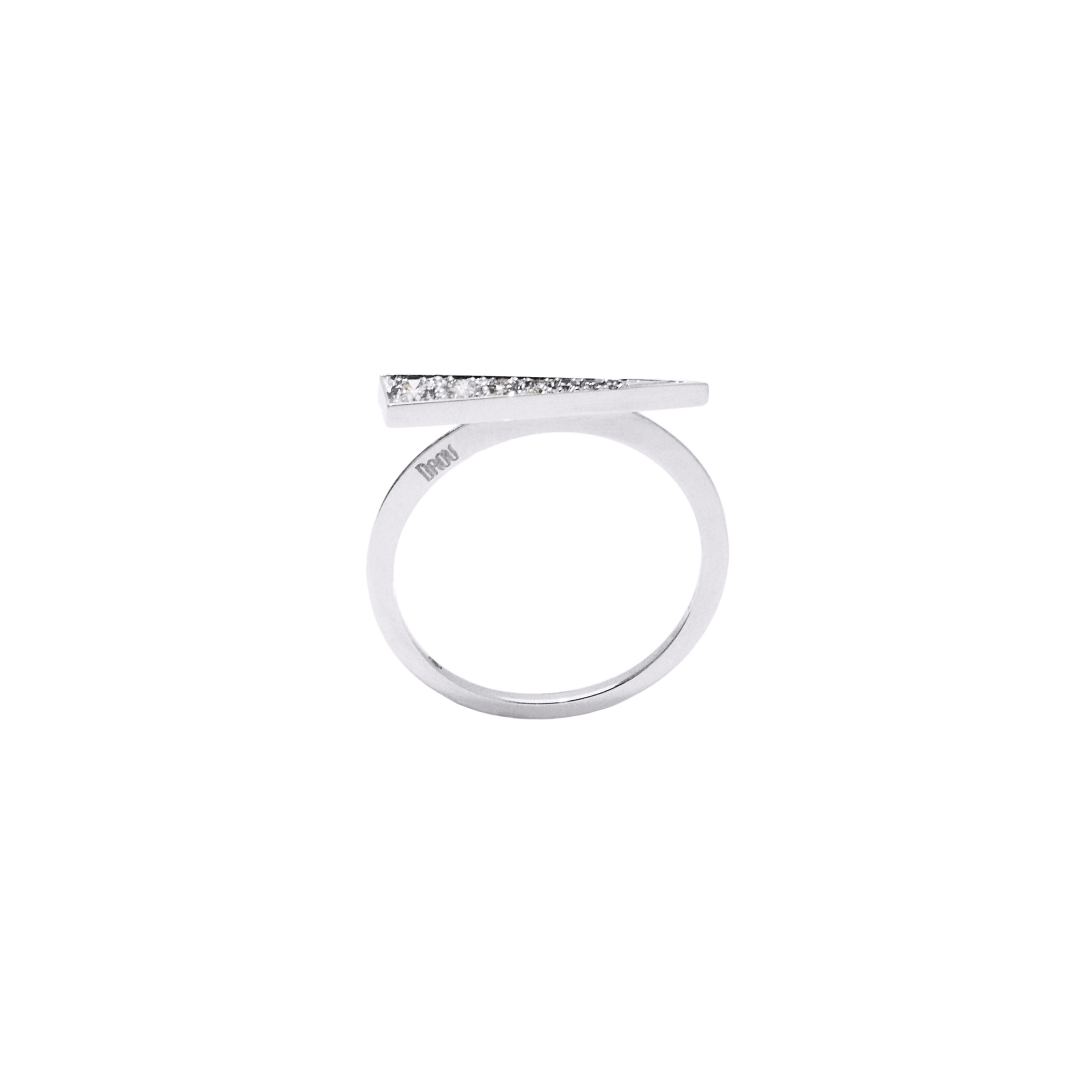 Spark Ring - Diamond White Gold by  on curated-crowd.com