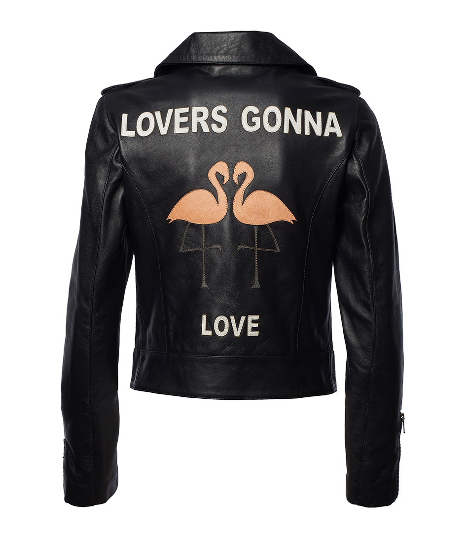 Custom Leather Jacket for Women by JN LLOVET on curated-crowd.com