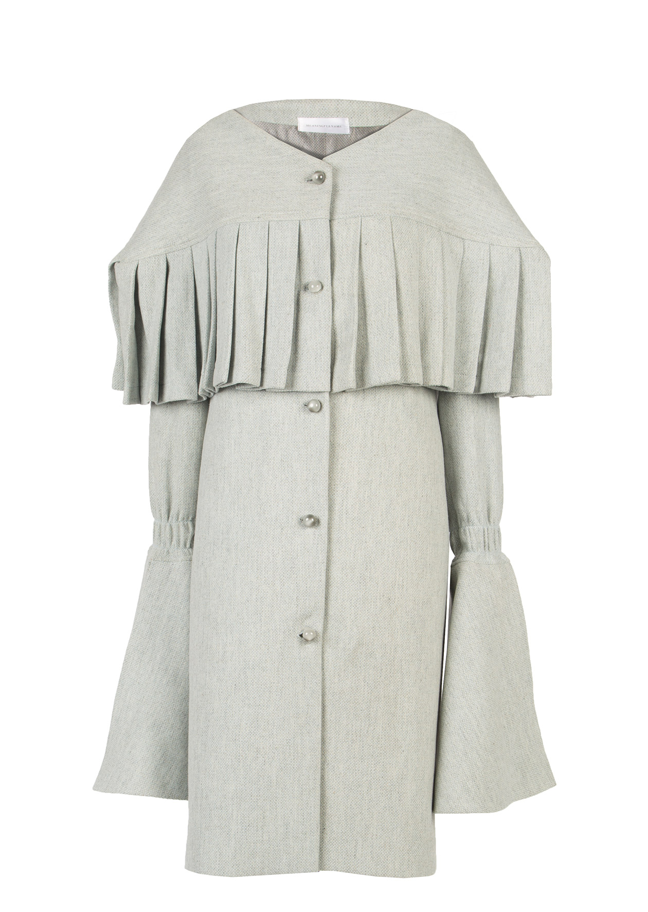 Wool Coat by Diana Kimbayeva on curated-crowd.com
