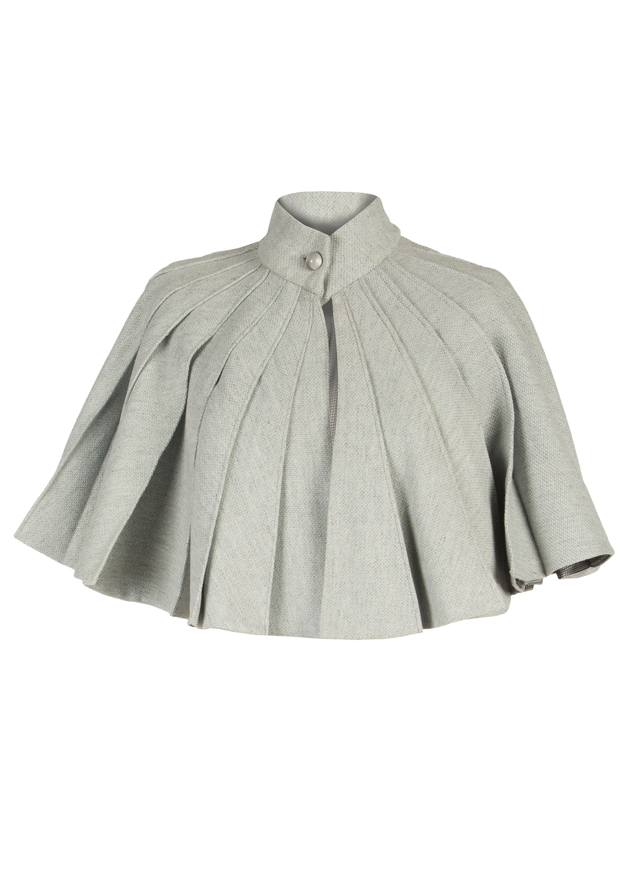 Wool Cape by Diana Kimbayeva on curated-crowd.com