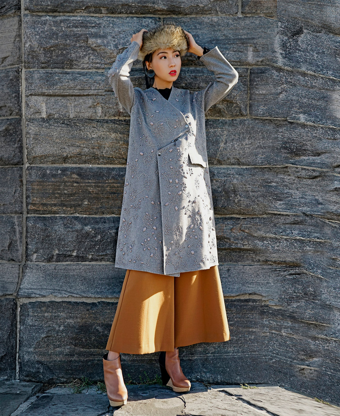 Wool Coat by BC.J on curated-crowd.com