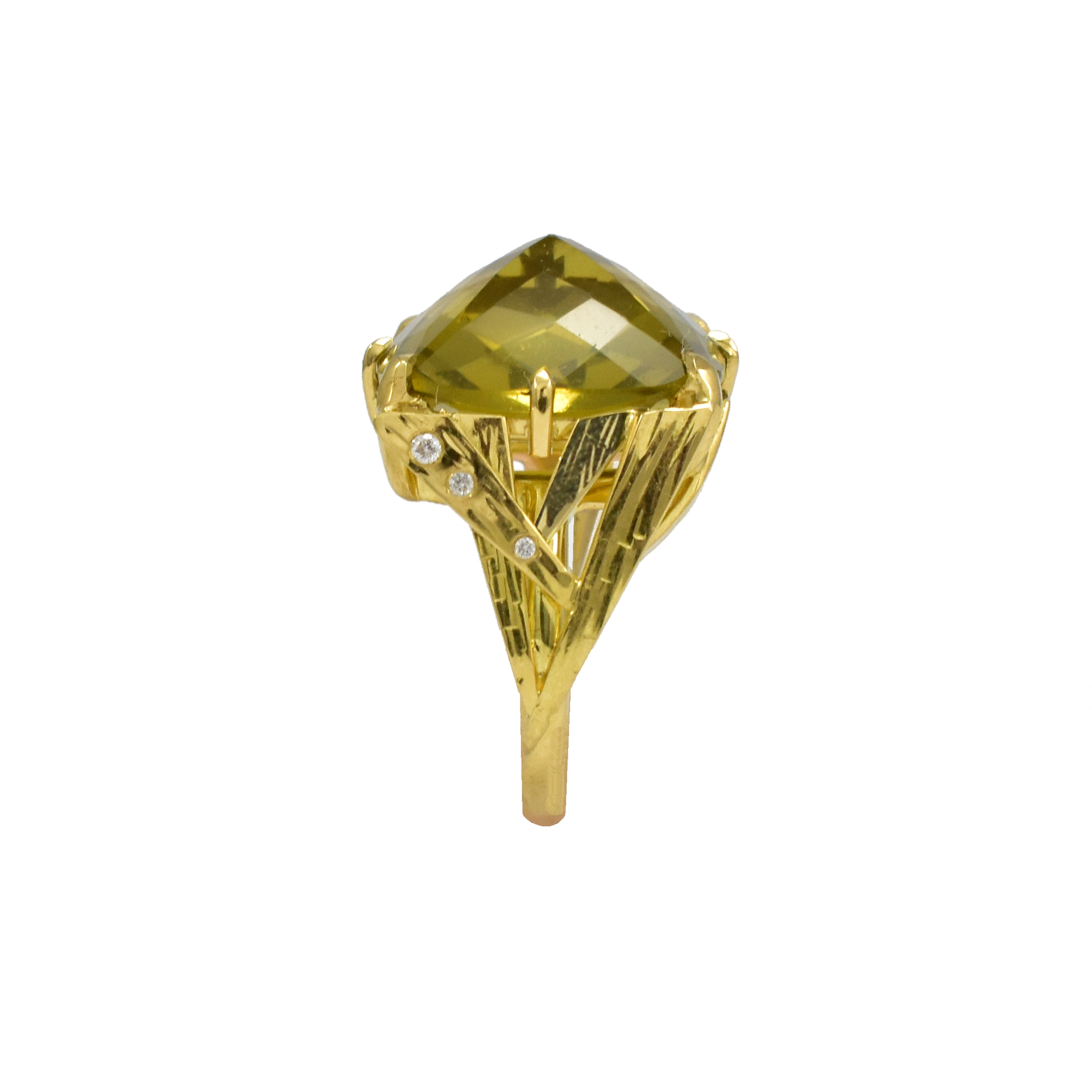 Exclusive - Sparks Gemstone Ring by Daou Jewellery on curated-crowd.com
