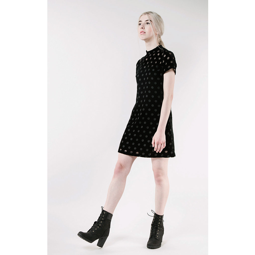 KIMMY Velvet Dress by Quin on curated-crowd.com