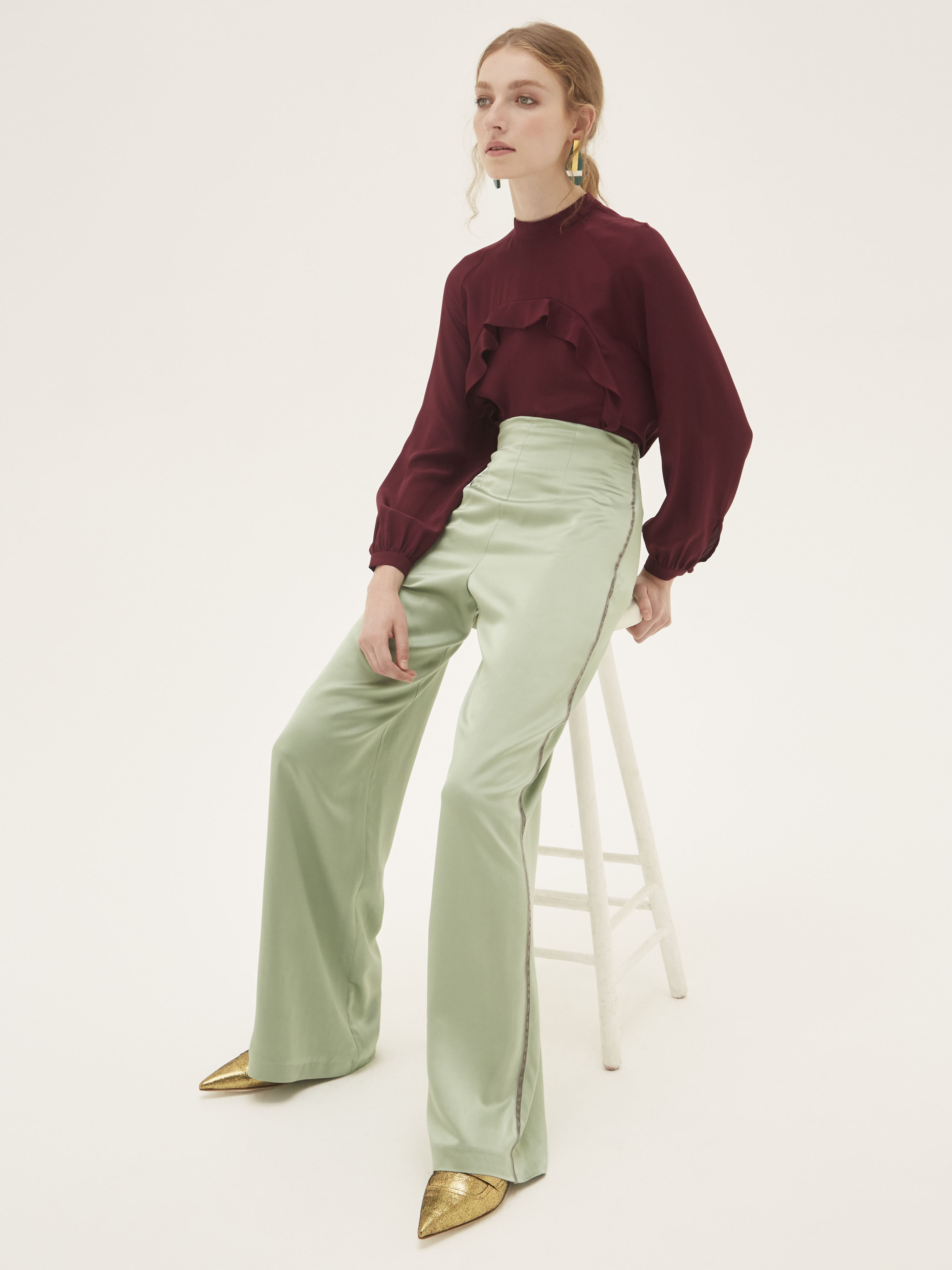 Elysian Trousers by Bozena Jankowska on curated-crowd.com