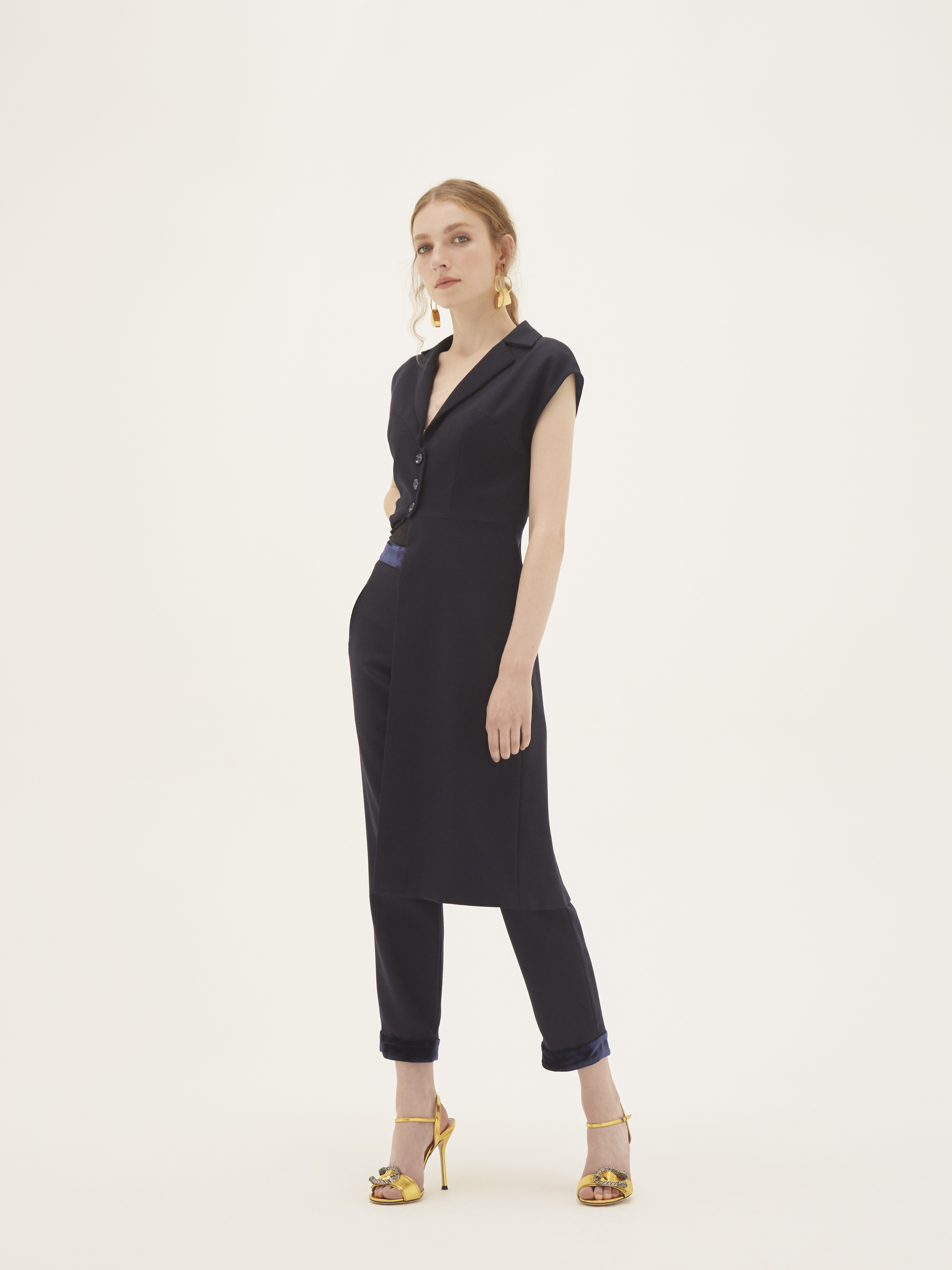 Heather Trousers by Bozena Jankowska on curated-crowd.com