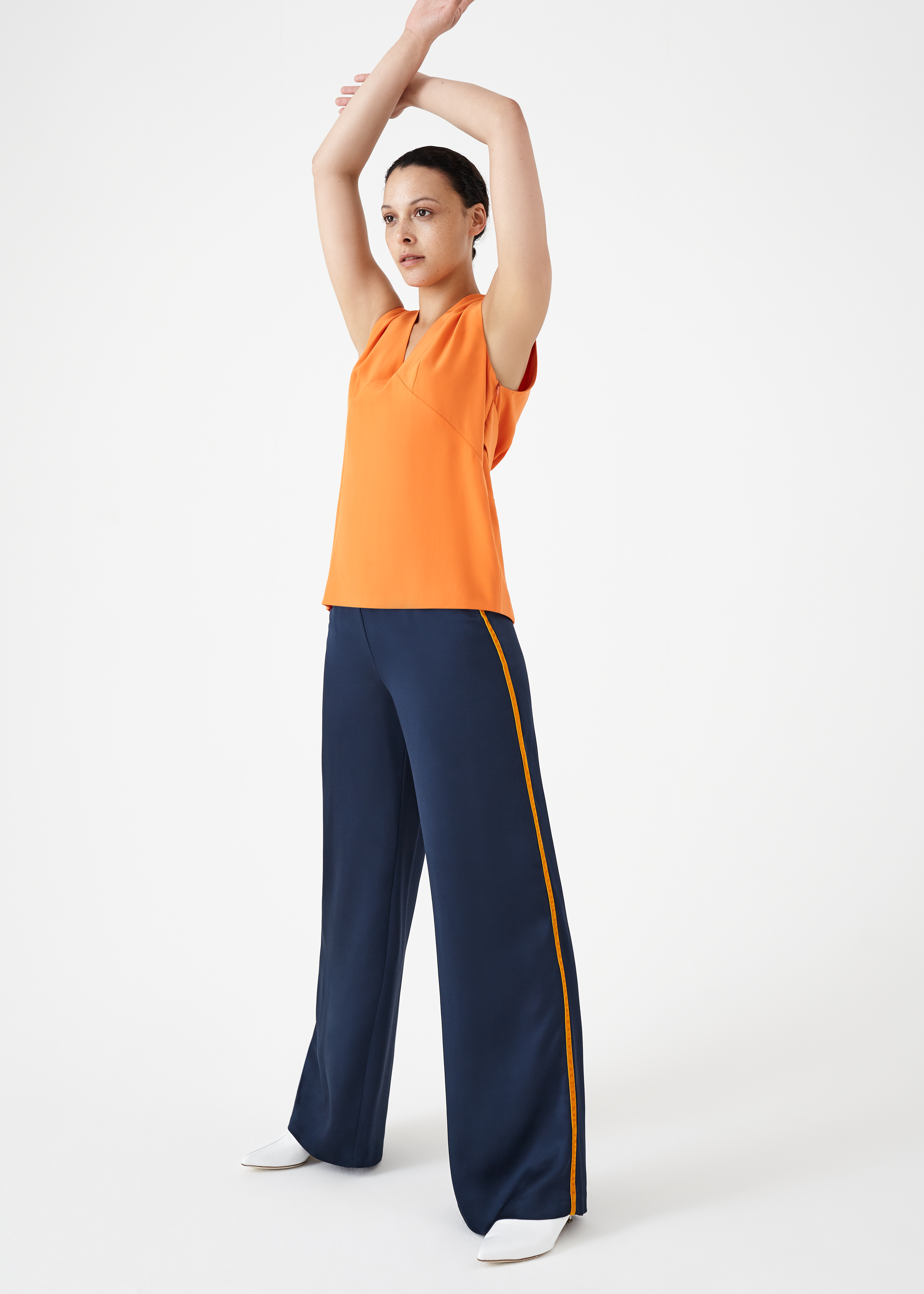 Elysian Blue Trousers by Bozena Jankowska on curated-crowd.com