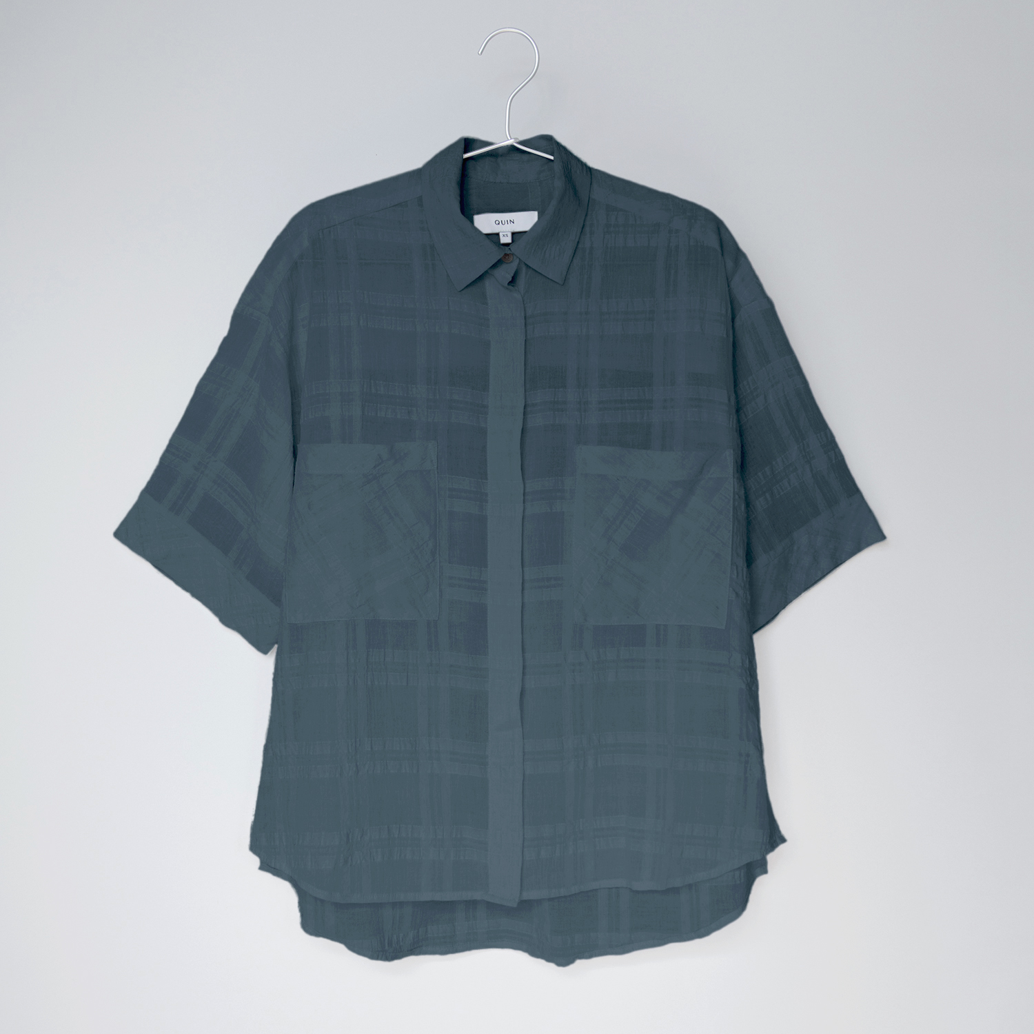 JO Cotton Boyfriend Shirt by Quin on curated-crowd.com