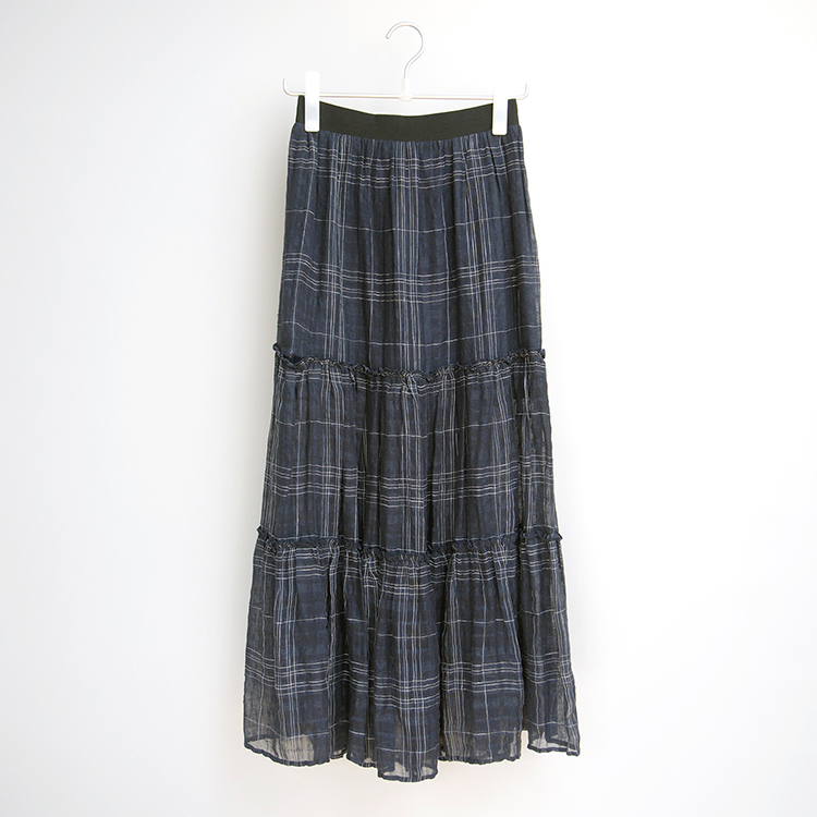 SALLY Linen Maxi Skirt by Quin on curated-crowd.com