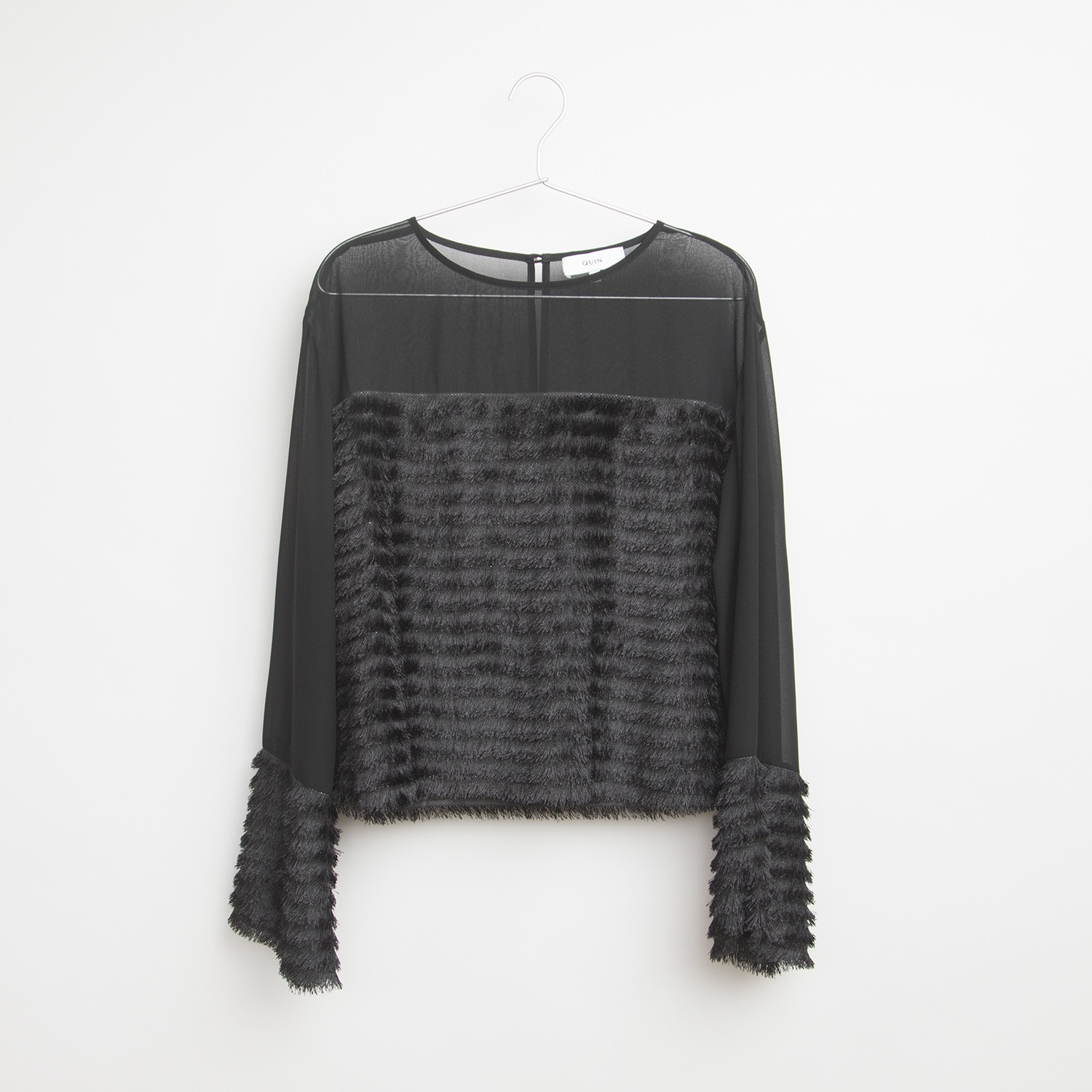 LEONA Fringe Top by  on curated-crowd.com