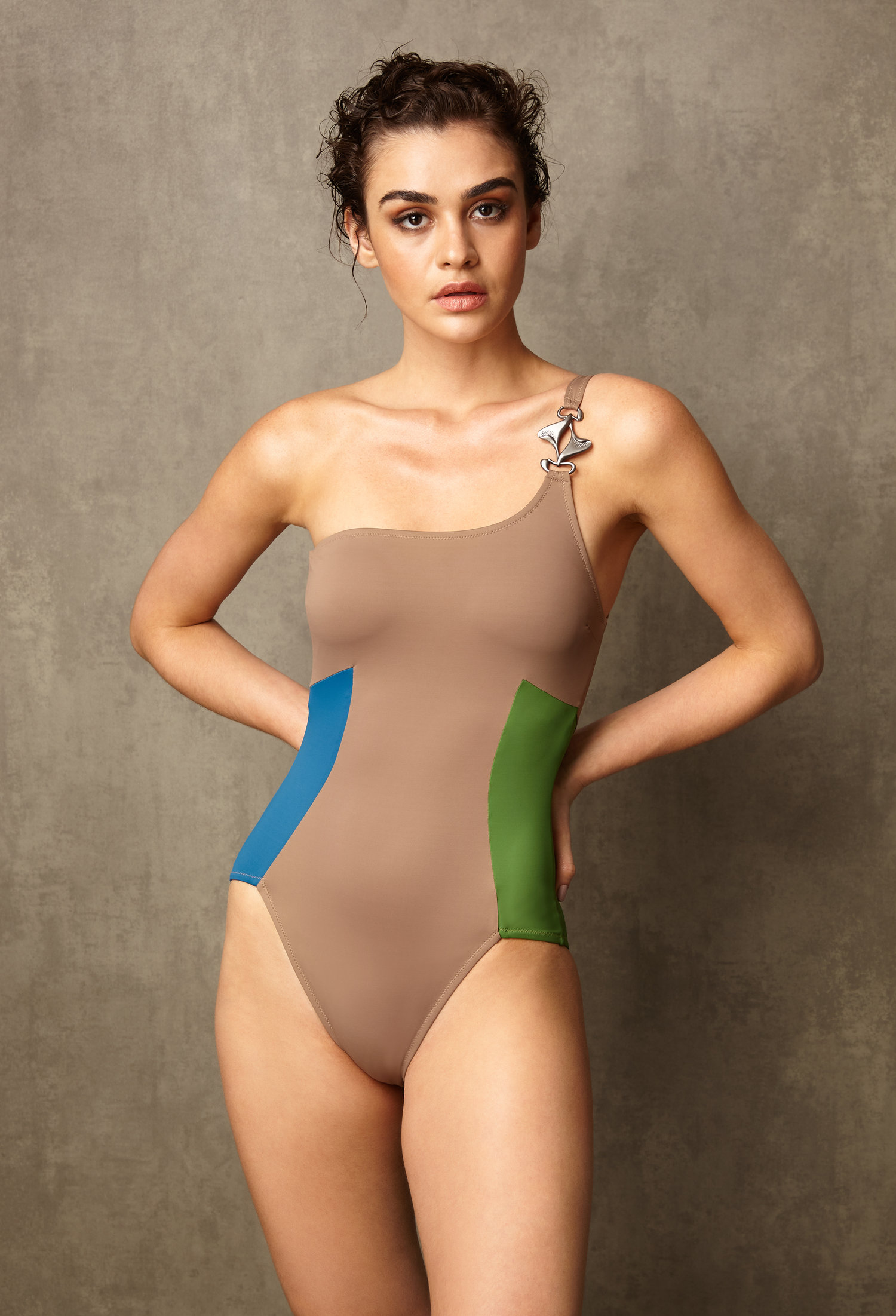 CUCKOO NATURE SWIMSUIT by AVA VERDÚ on curated-crowd.com