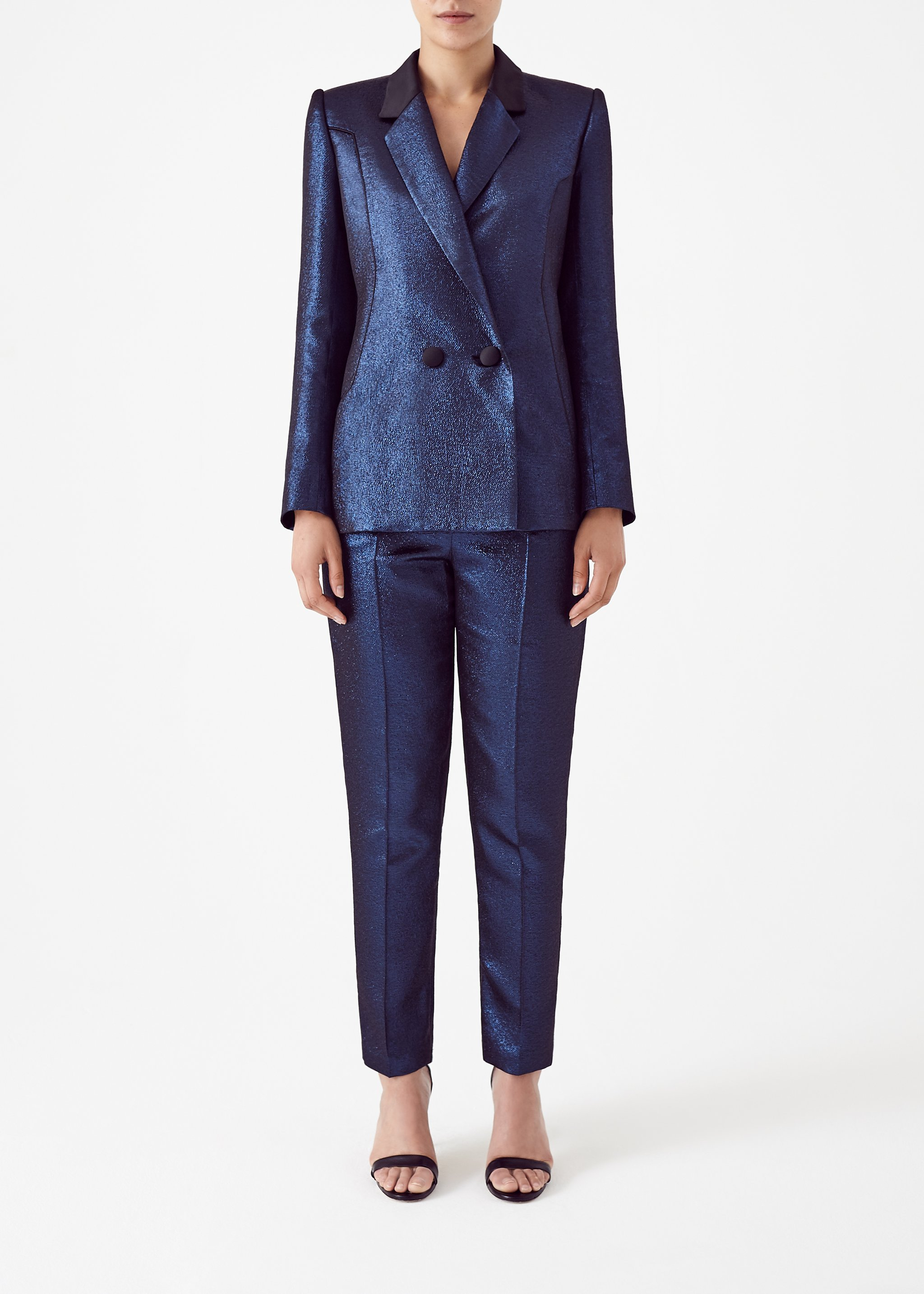 Blue Aphrodite Jacket by Bozena Jankowska on curated-crowd.com