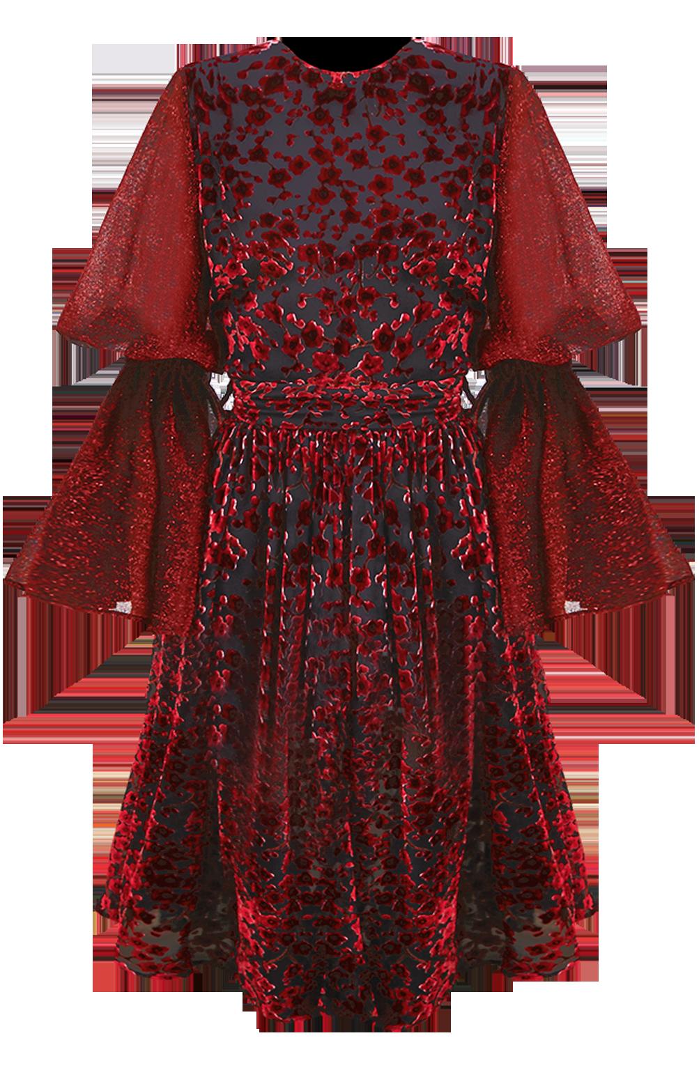 Scarlet Mini Dress by Georgia Hardinge on curated-crowd.com