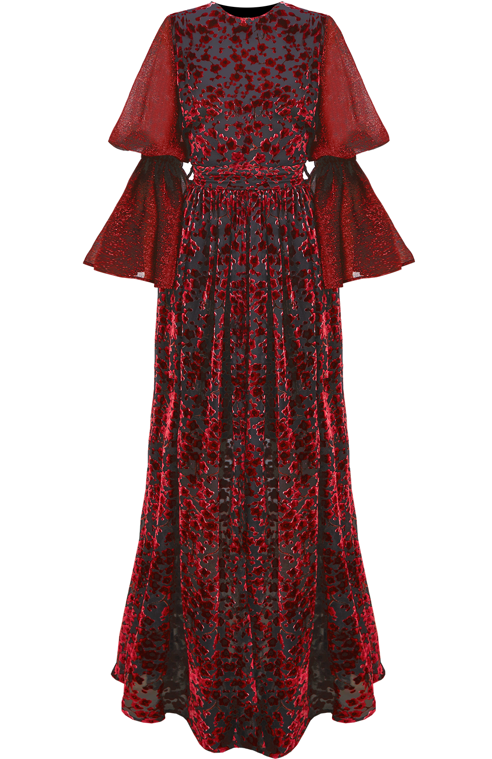 Scarlet Floor Length Dress by Georgia Hardinge on curated-crowd.com