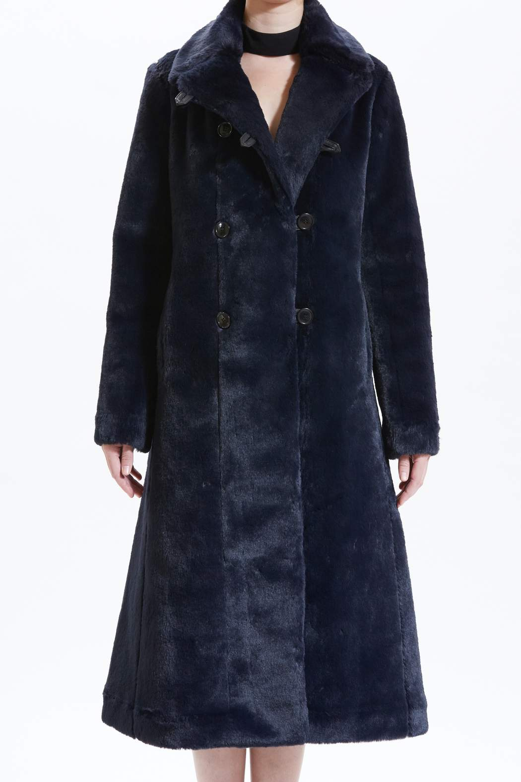 Catherine Marine Peacoat by Maison Atia on curated-crowd.com
