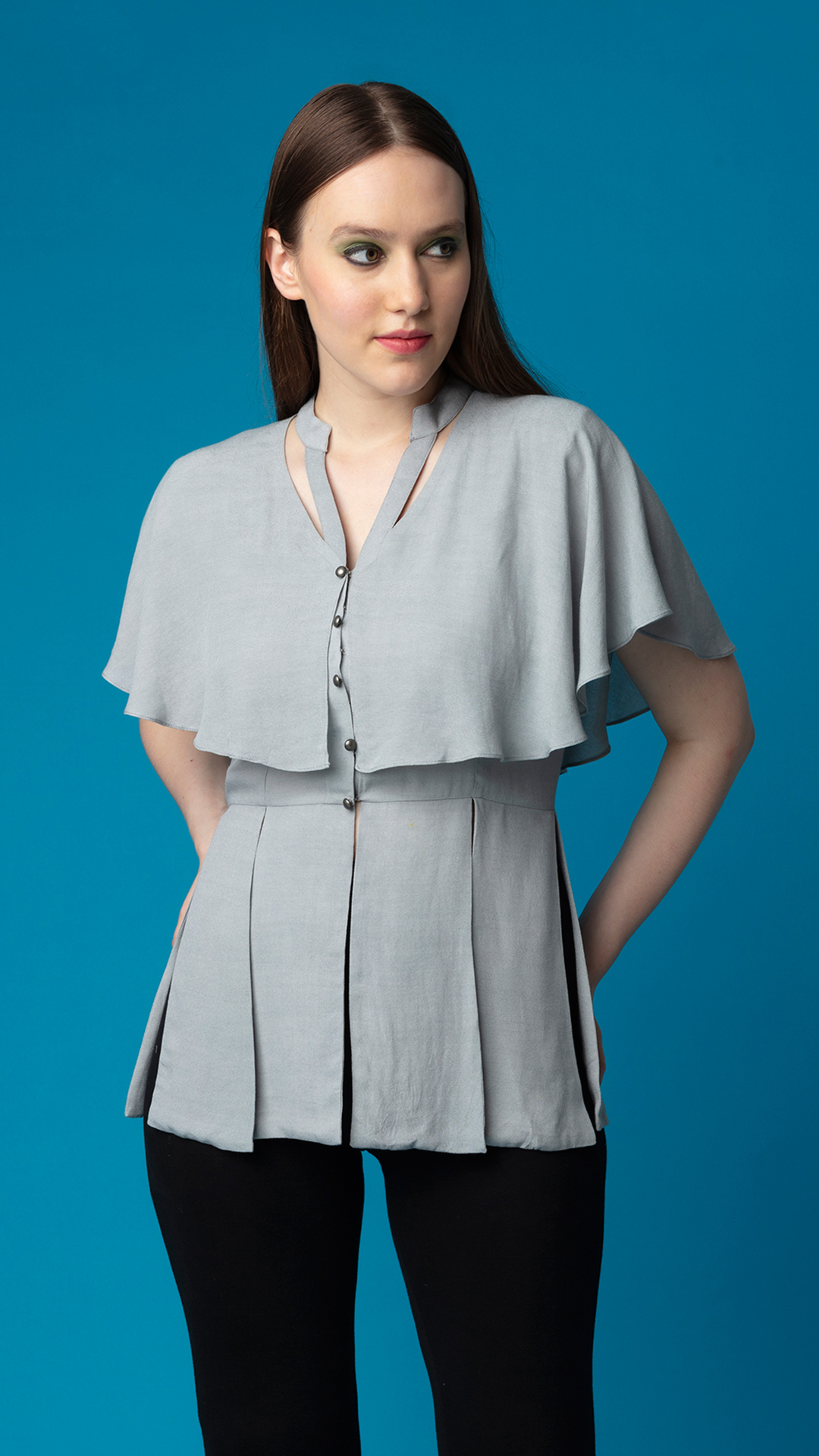 Aviation Cape Top by K.Kristina on curated-crowd.com