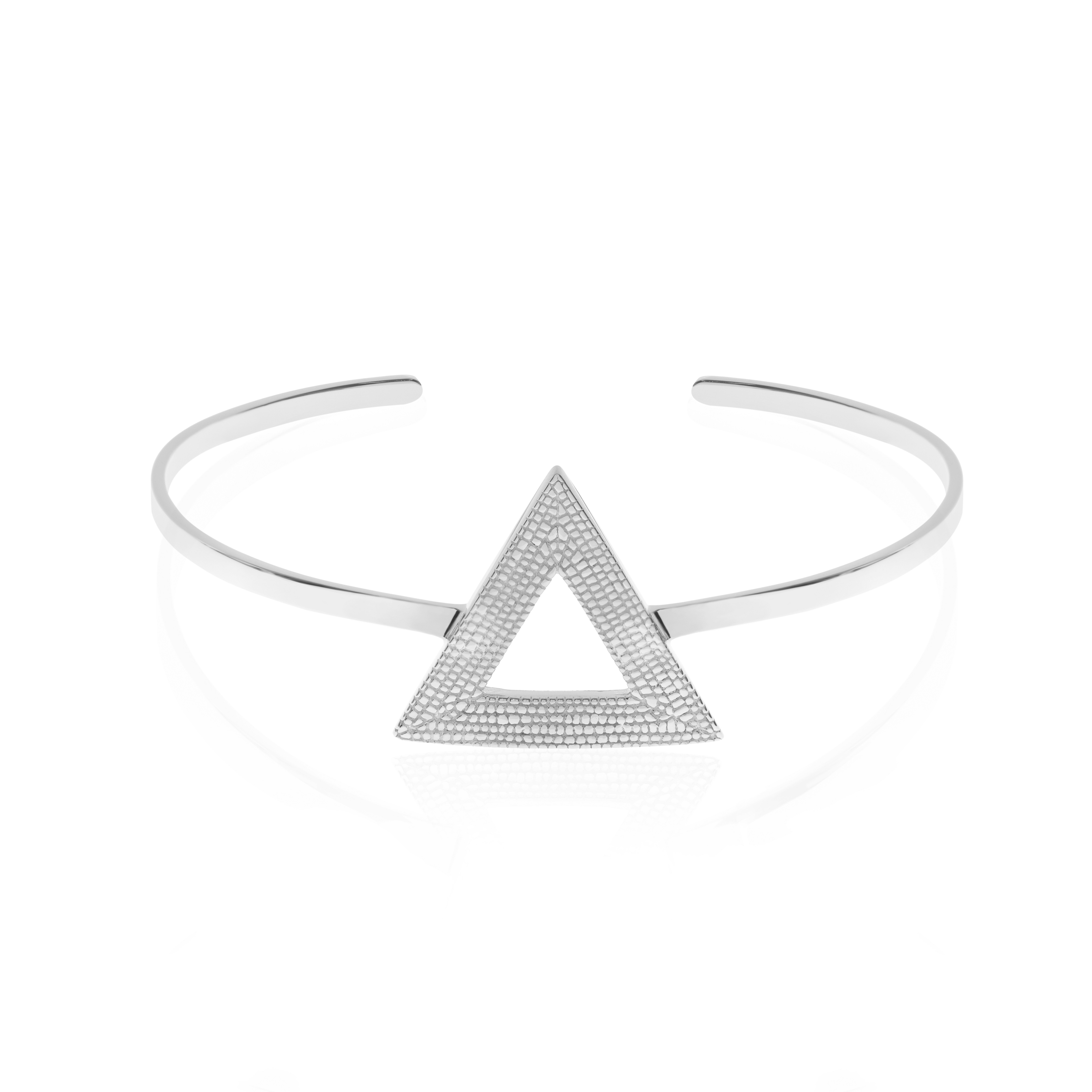 Who Says We Can't Change? Bangle/Cuff, Silver by Sally Lane Jewellery on curated-crowd.com