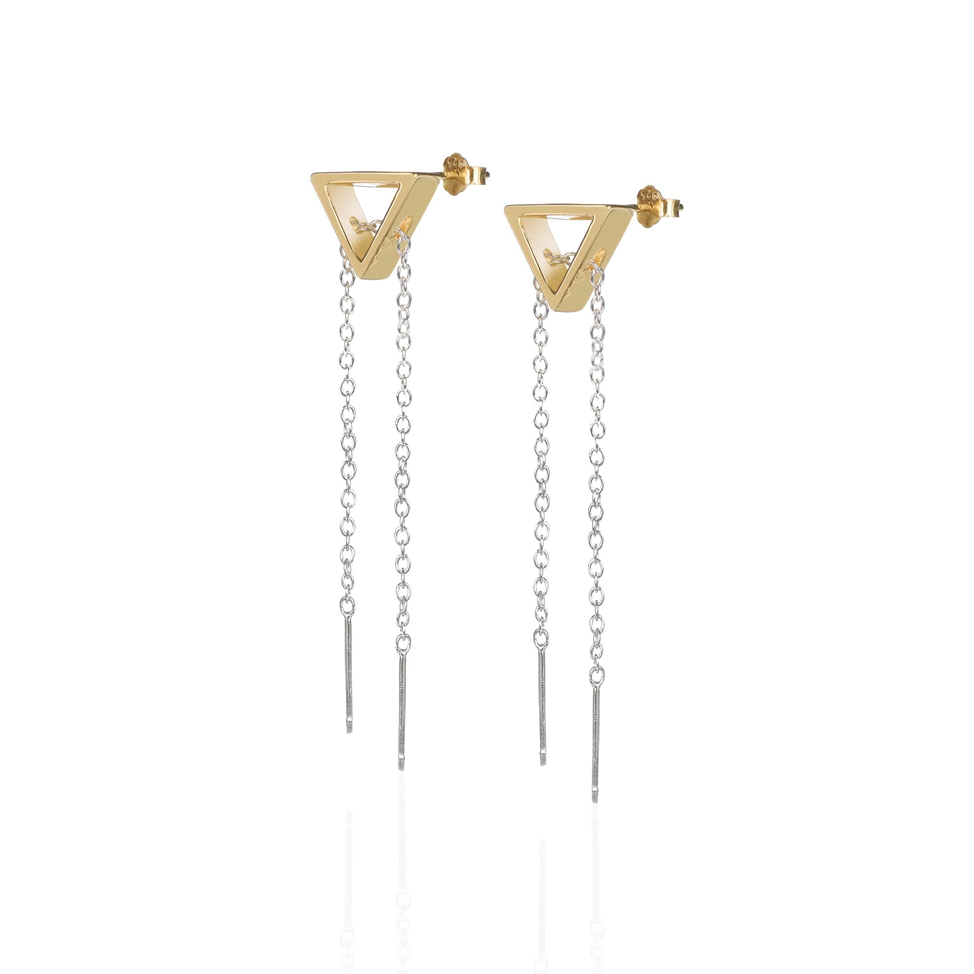 Journey Earrings by Sally Lane Jewellery on curated-crowd.com