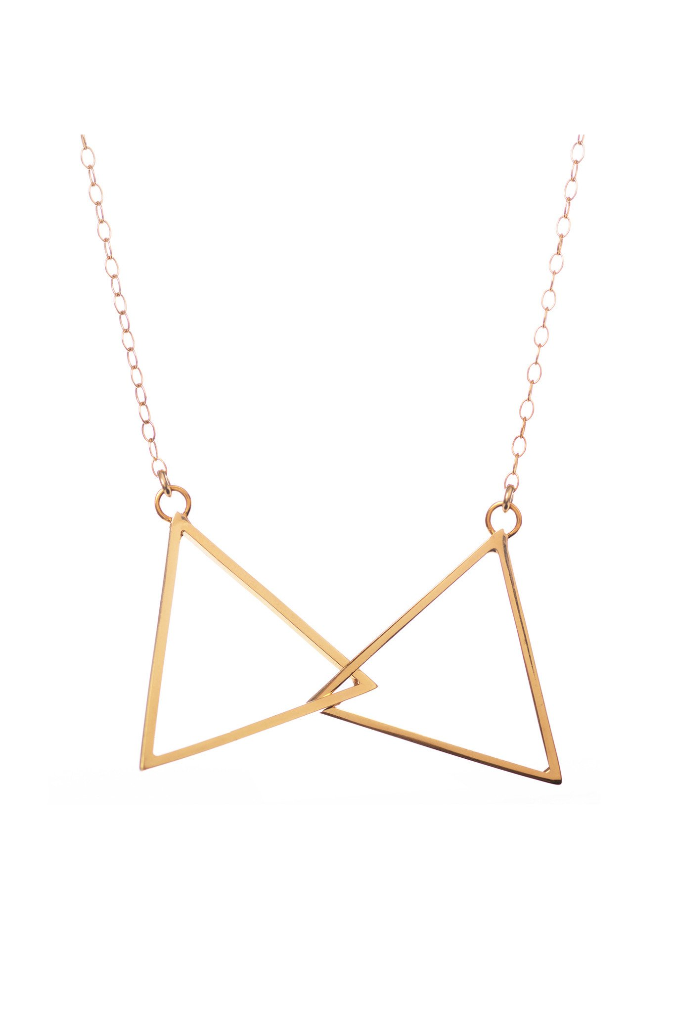 Connected, Gold Necklace by Sally Lane Jewellery on curated-crowd.com