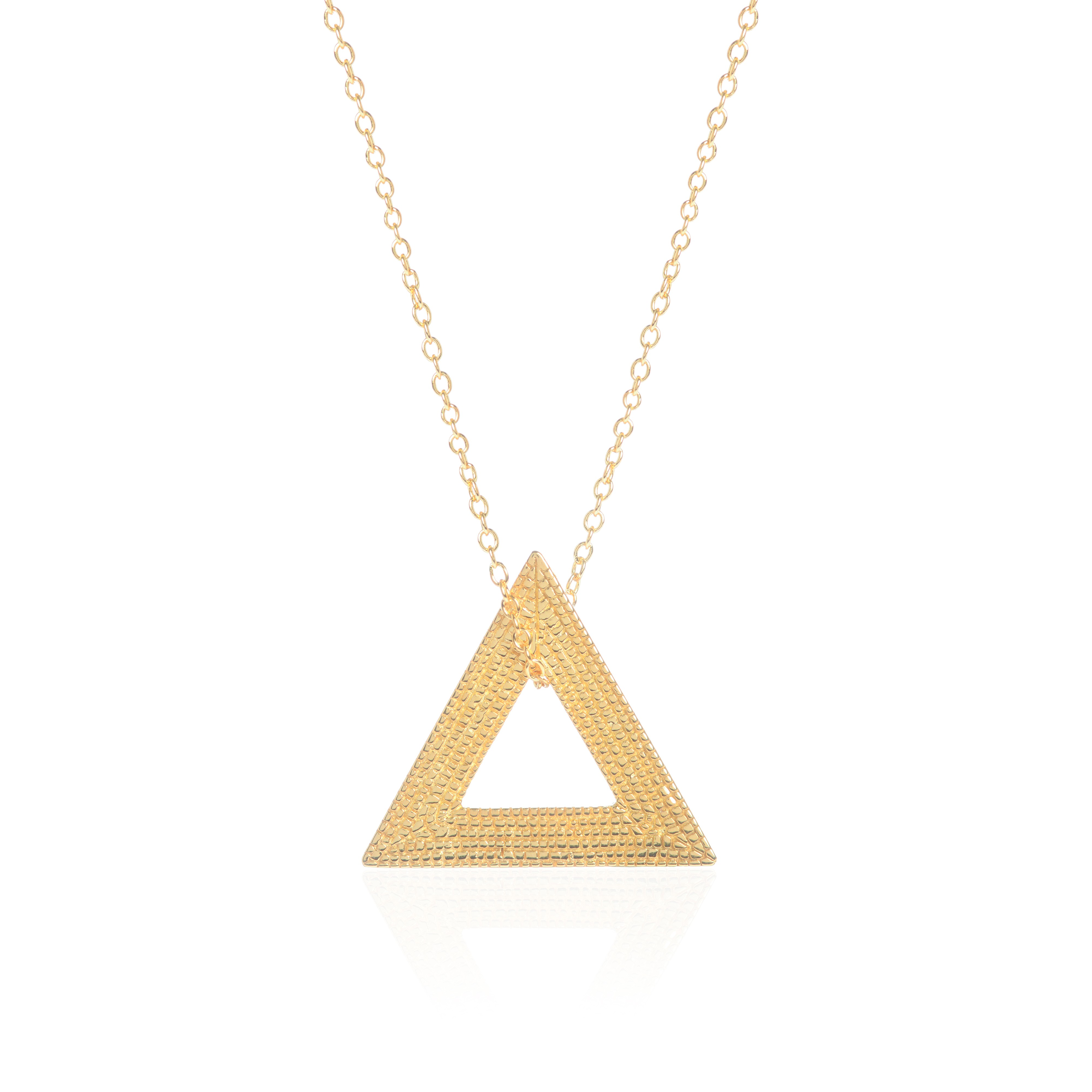 Who Says We Can't Change? Necklace, Gold by Sally Lane Jewellery on curated-crowd.com