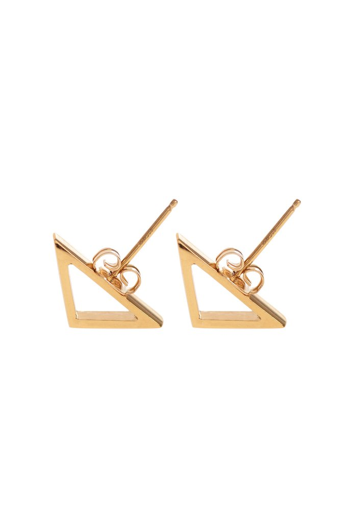 Archer, Gold Studs by Sally Lane Jewellery on curated-crowd.com
