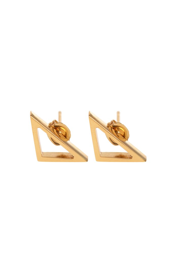 Got Some Front, Gold Studs by Sally Lane Jewellery on curated-crowd.com