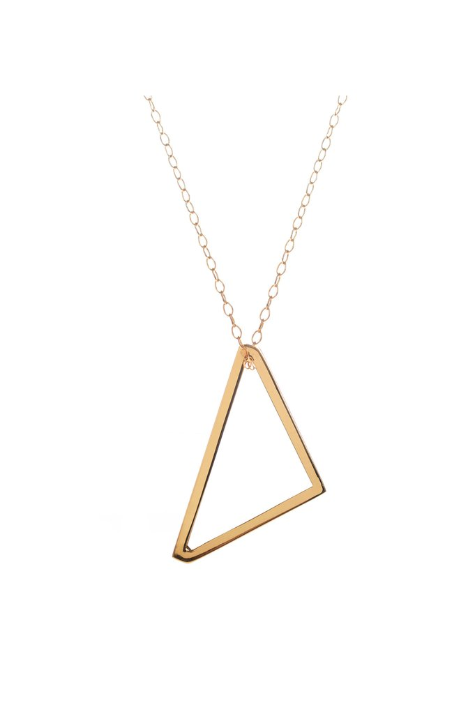 Long Shot, Gold Pendant by Sally Lane Jewellery on curated-crowd.com