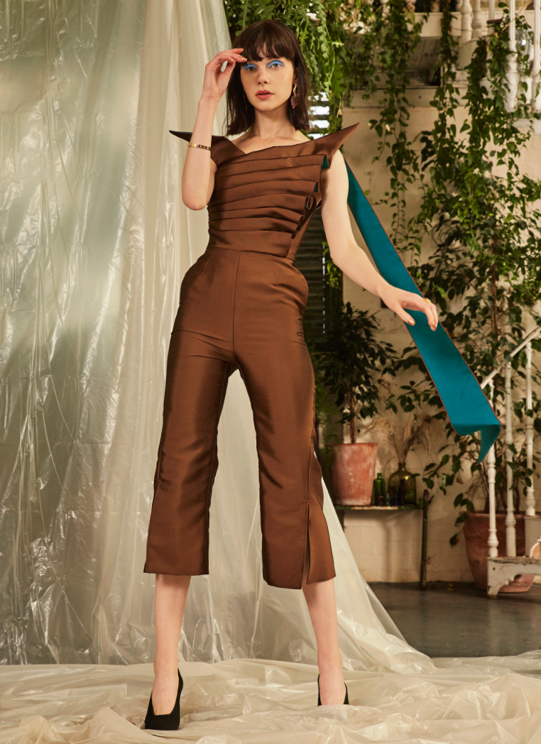 Celeste Jumpsuit by Alexandra Kaiser on curated-crowd.com