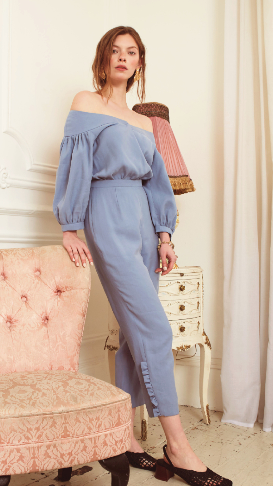 Daphne Jumpsuit by Alexandra Kaiser on curated-crowd.com