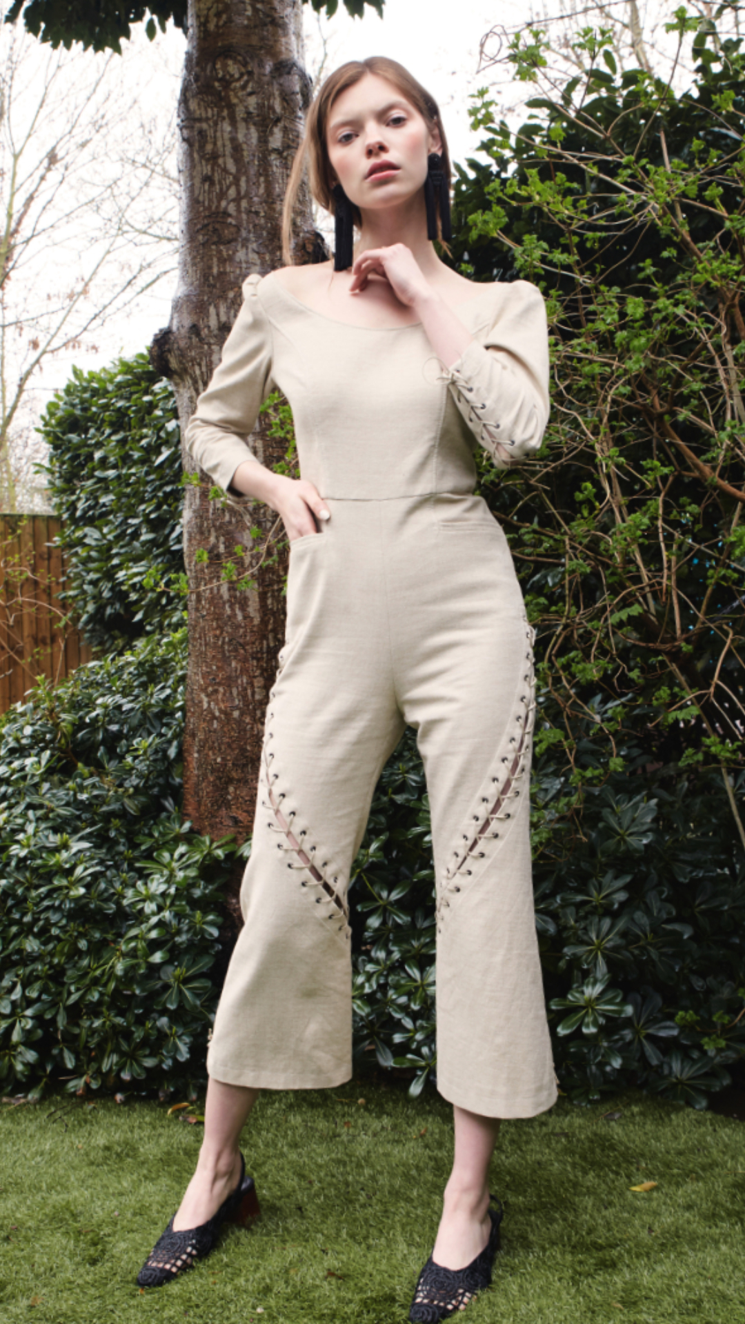 Demi Jumpsuit by Alexandra Kaiser on curated-crowd.com