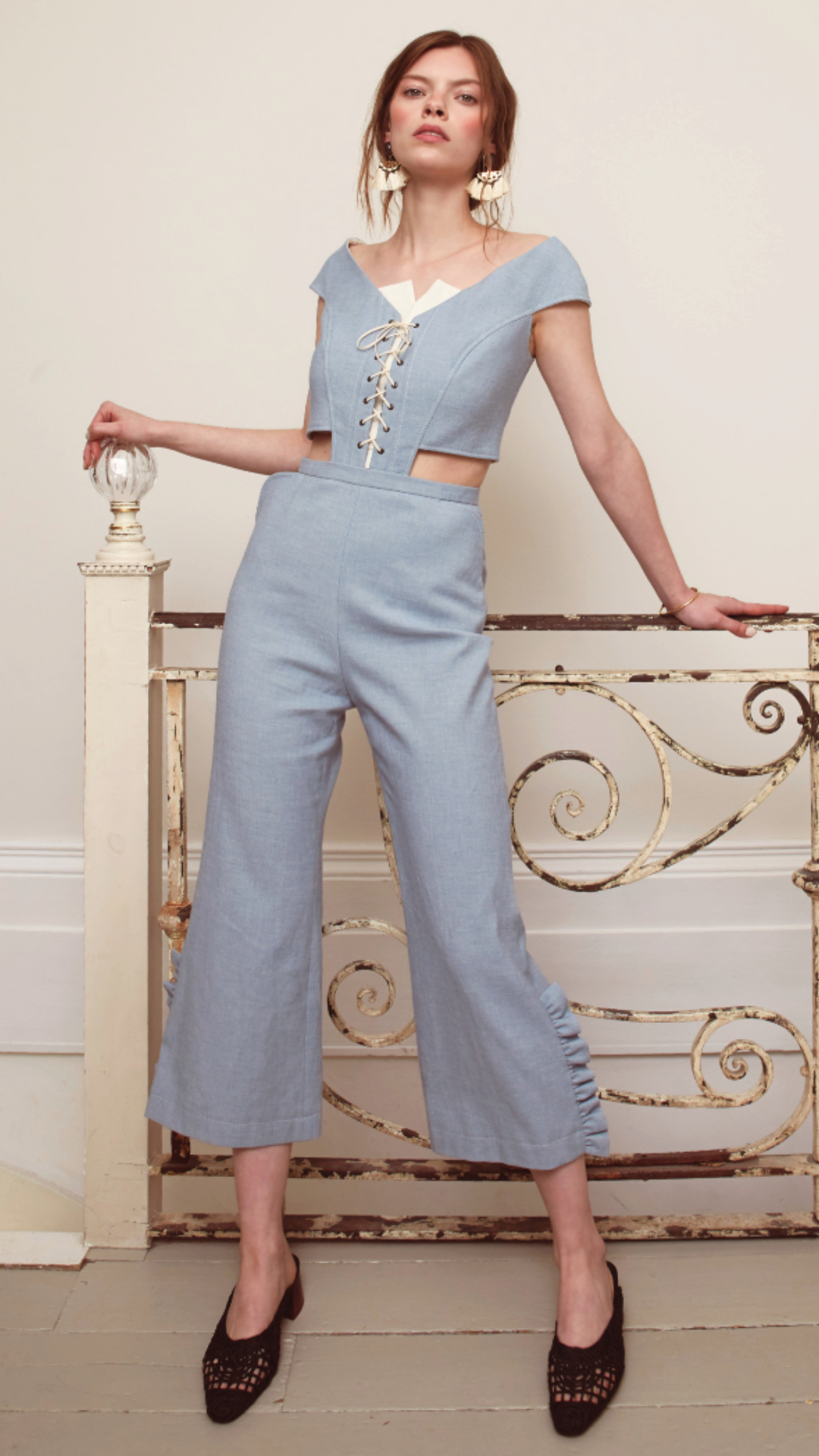 Diandra Jumpsuit by Alexandra Kaiser on curated-crowd.com