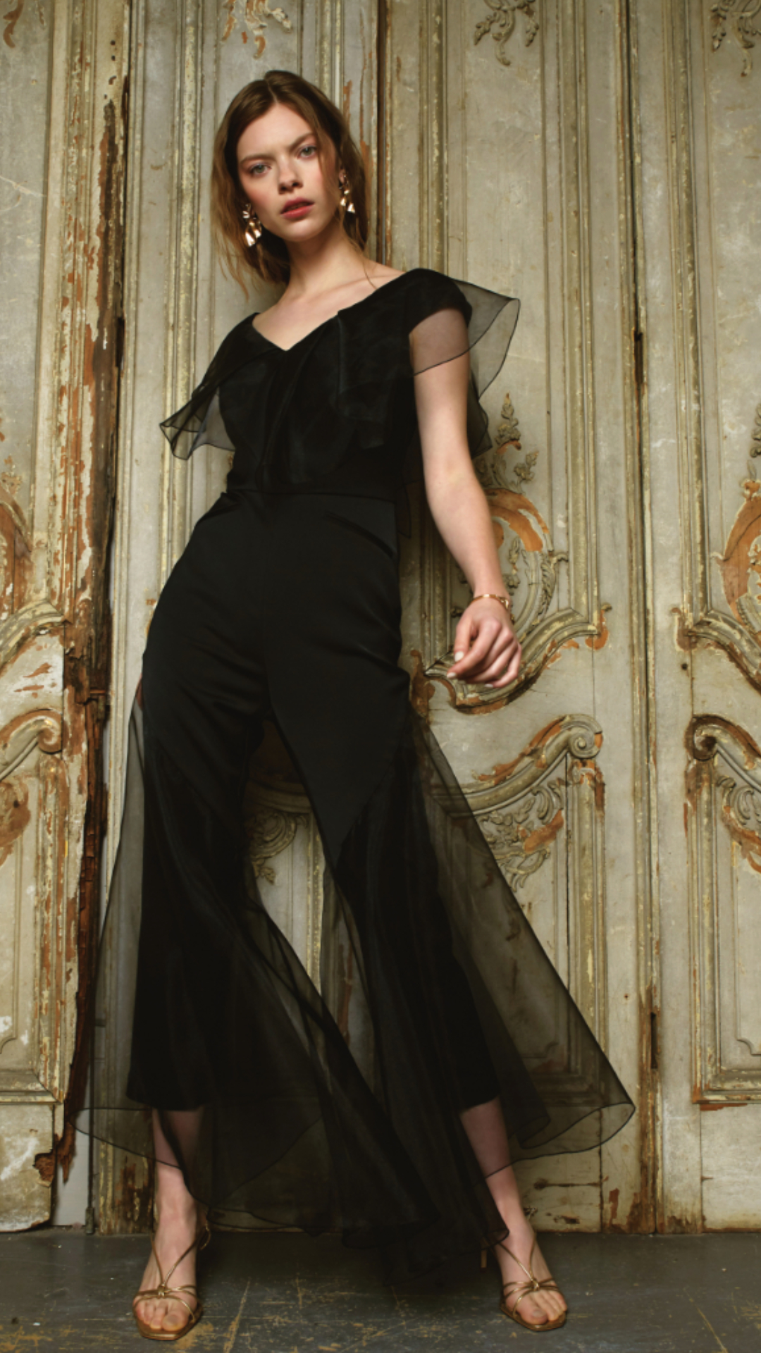 Dominique Jumpsuit by Alexandra Kaiser on curated-crowd.com