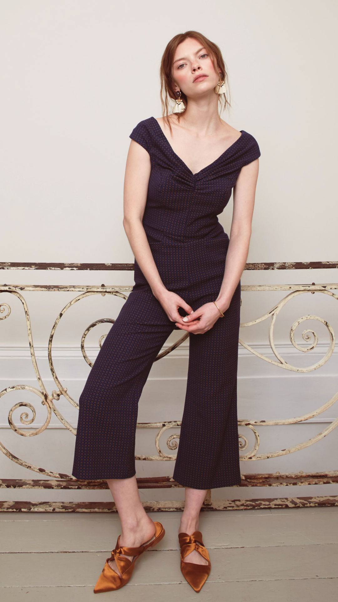 Dagny Jumpsuit by Alexandra Kaiser on curated-crowd.com