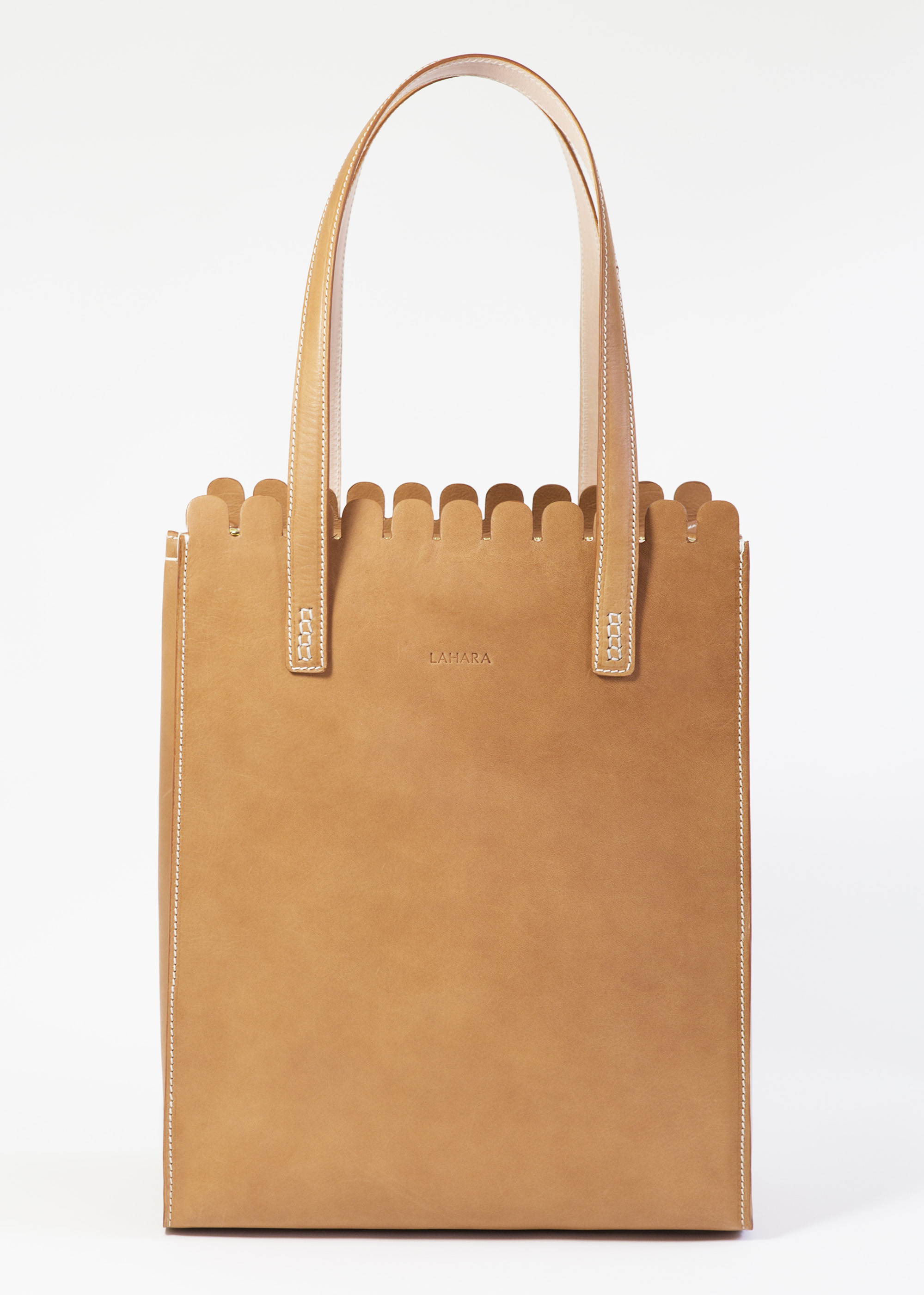 Sorrento Tote Tan by LAHARA on curated-crowd.com
