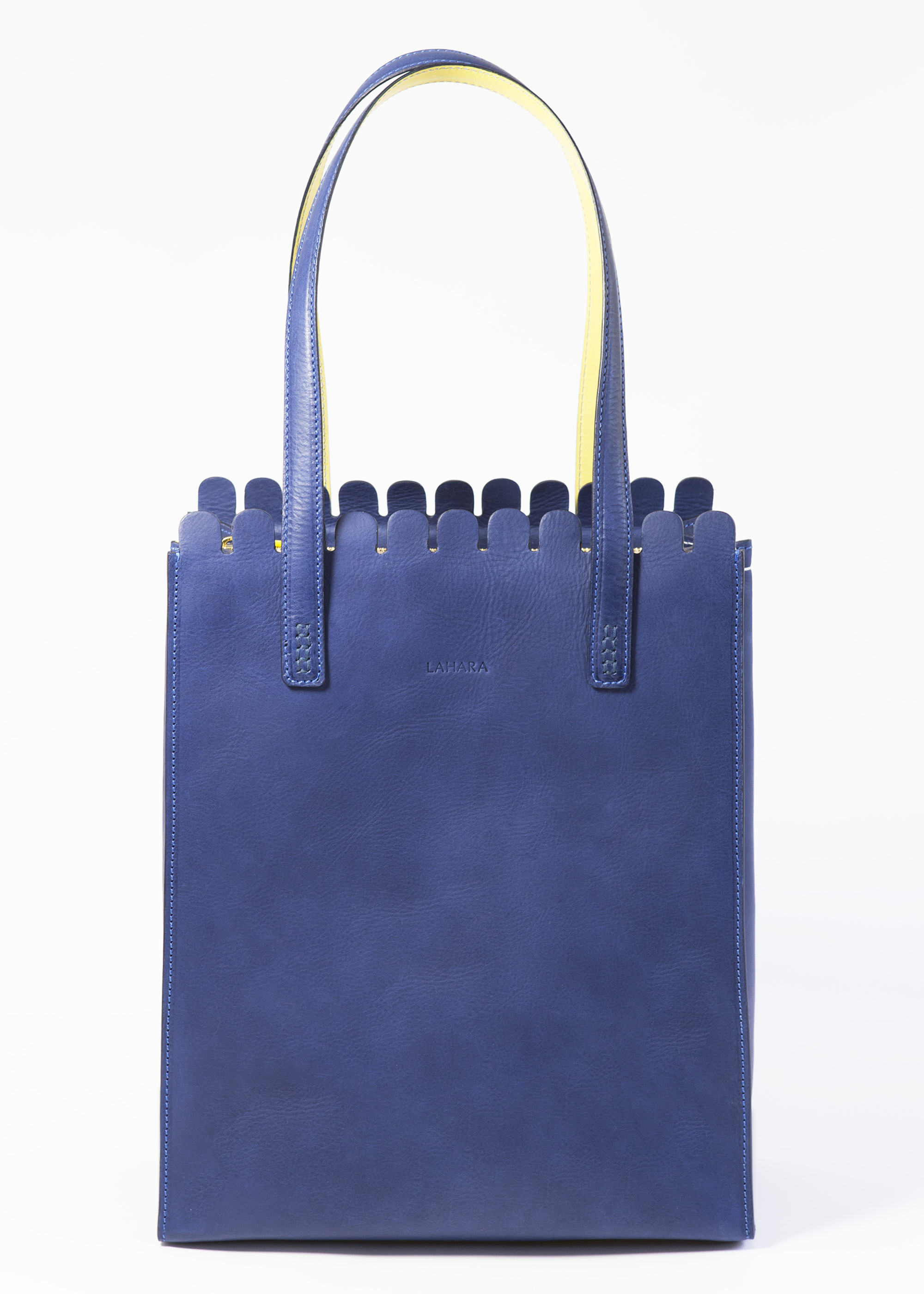 Sorrento Tote Marine by LAHARA on curated-crowd.com