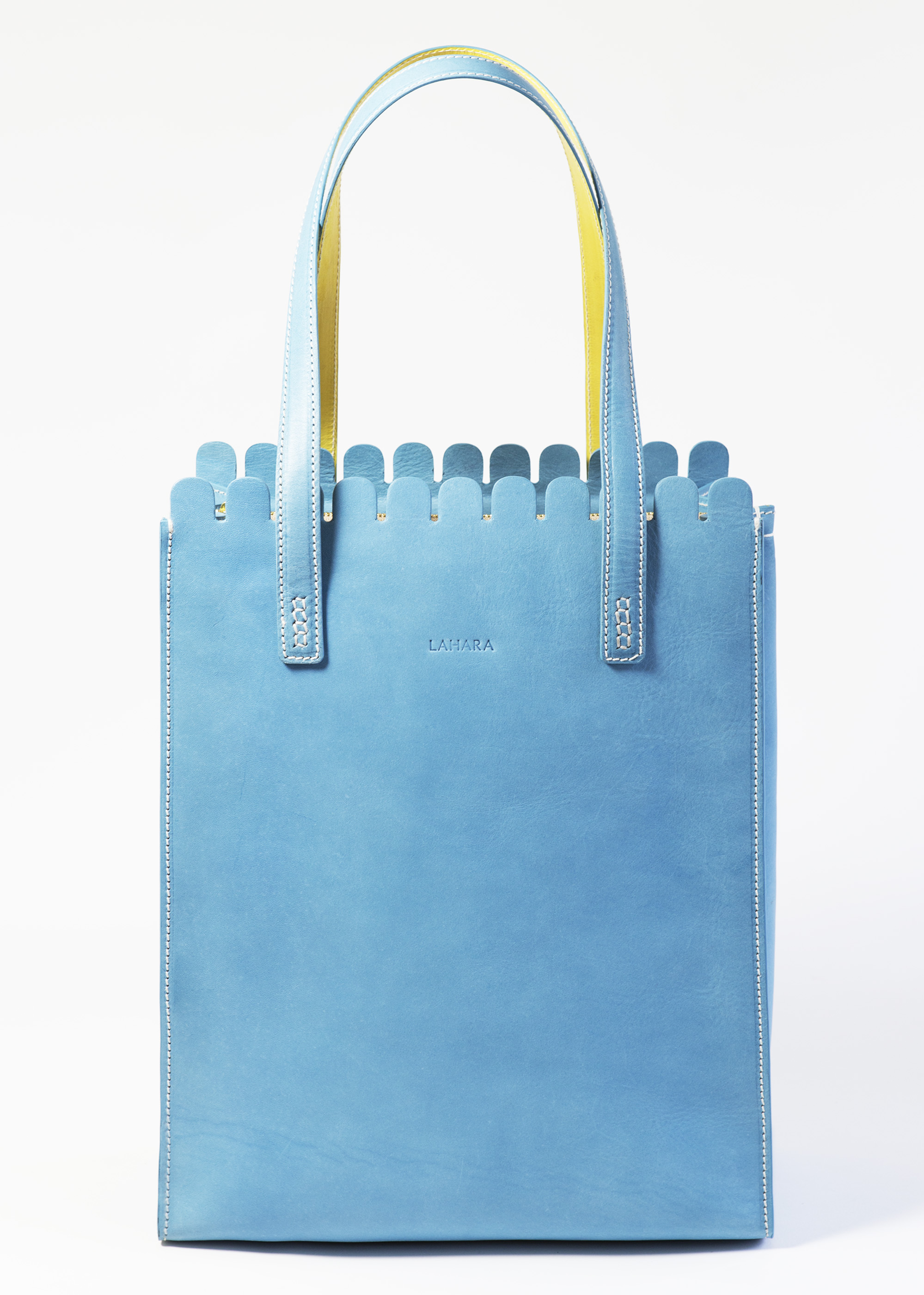 Sorrento Tote Laguna by LAHARA on curated-crowd.com