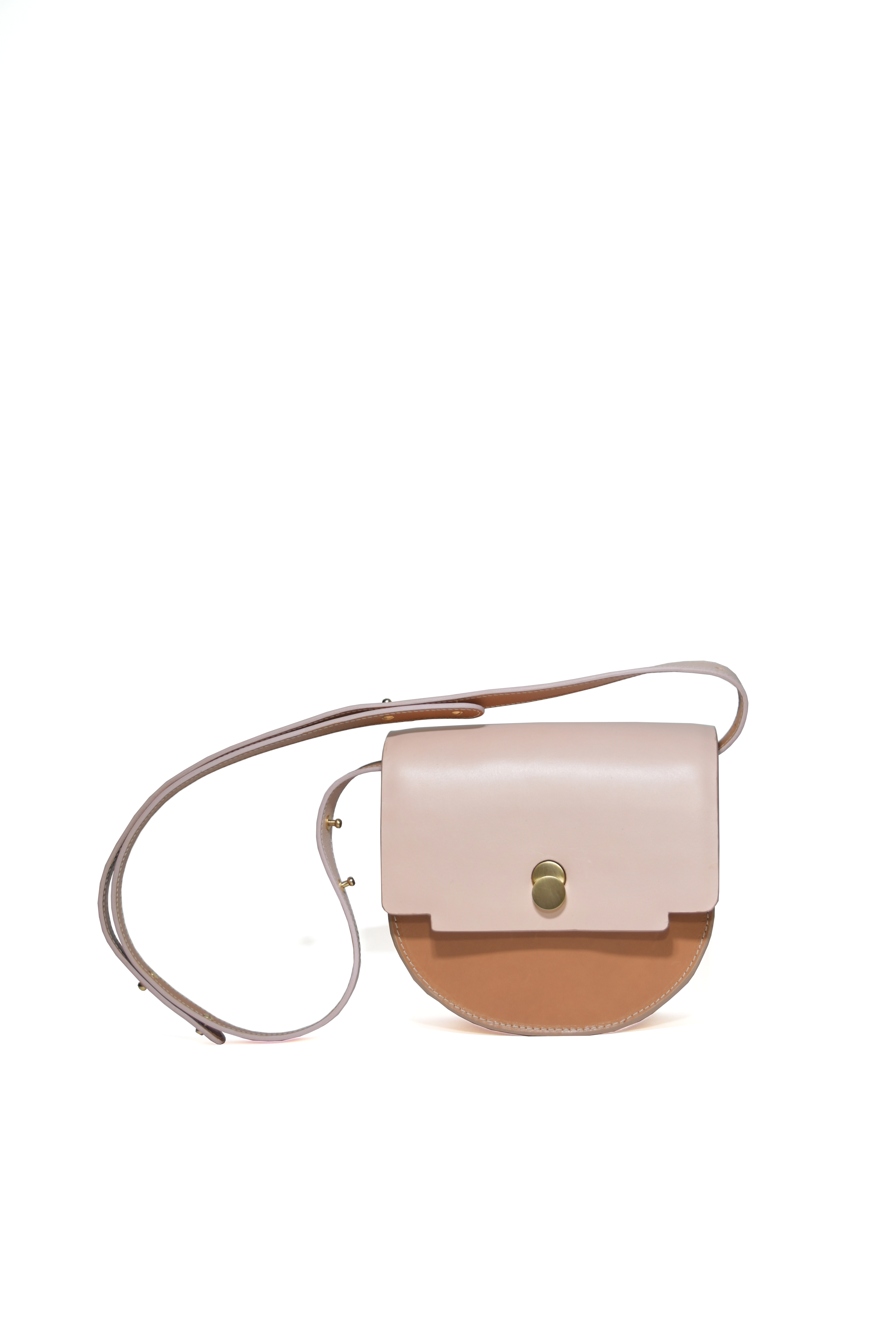 Mita Saddle bag Orchidea by LAHARA on curated-crowd.com
