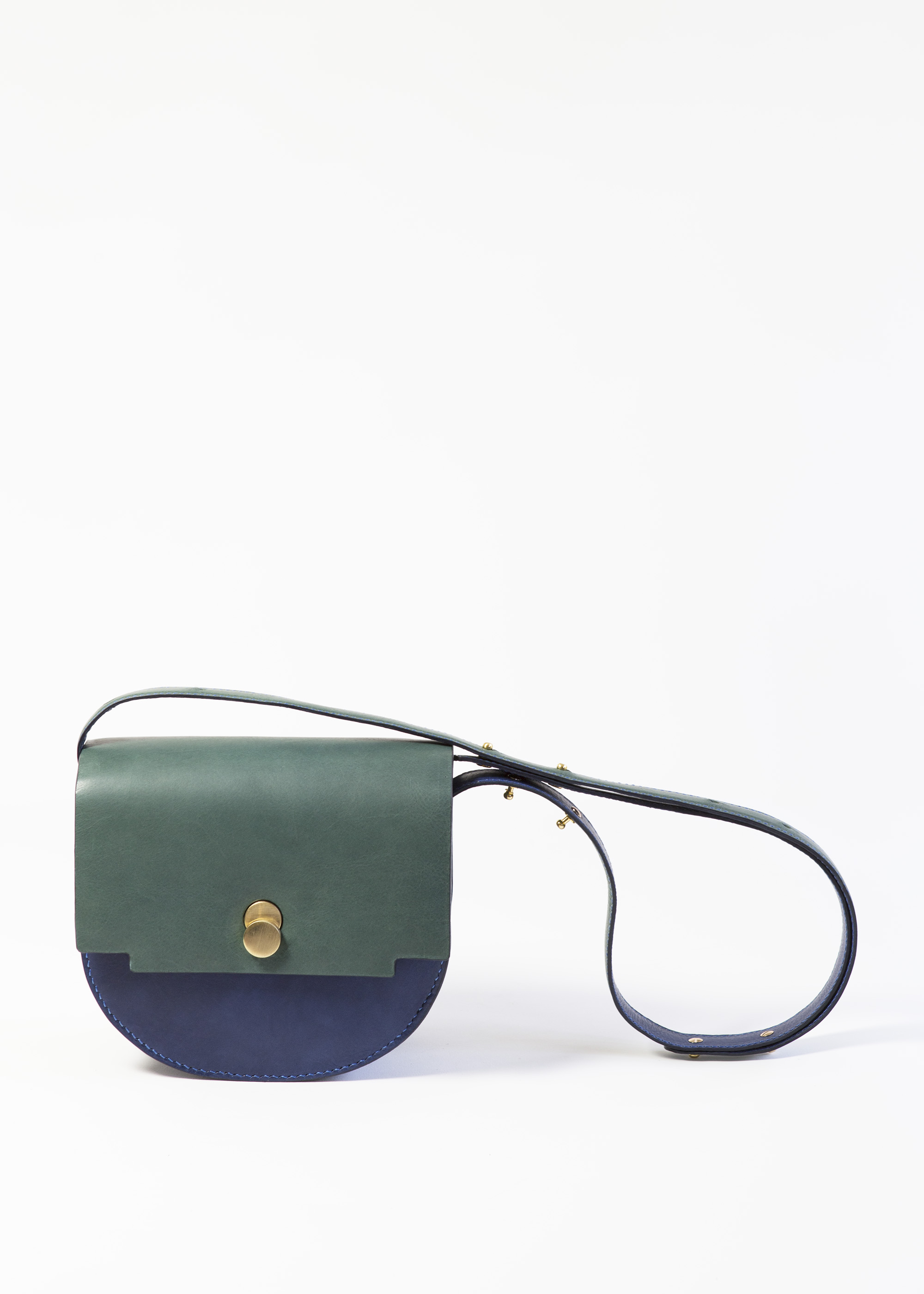 Mita Saddle bag Marine Agave by LAHARA on curated-crowd.com