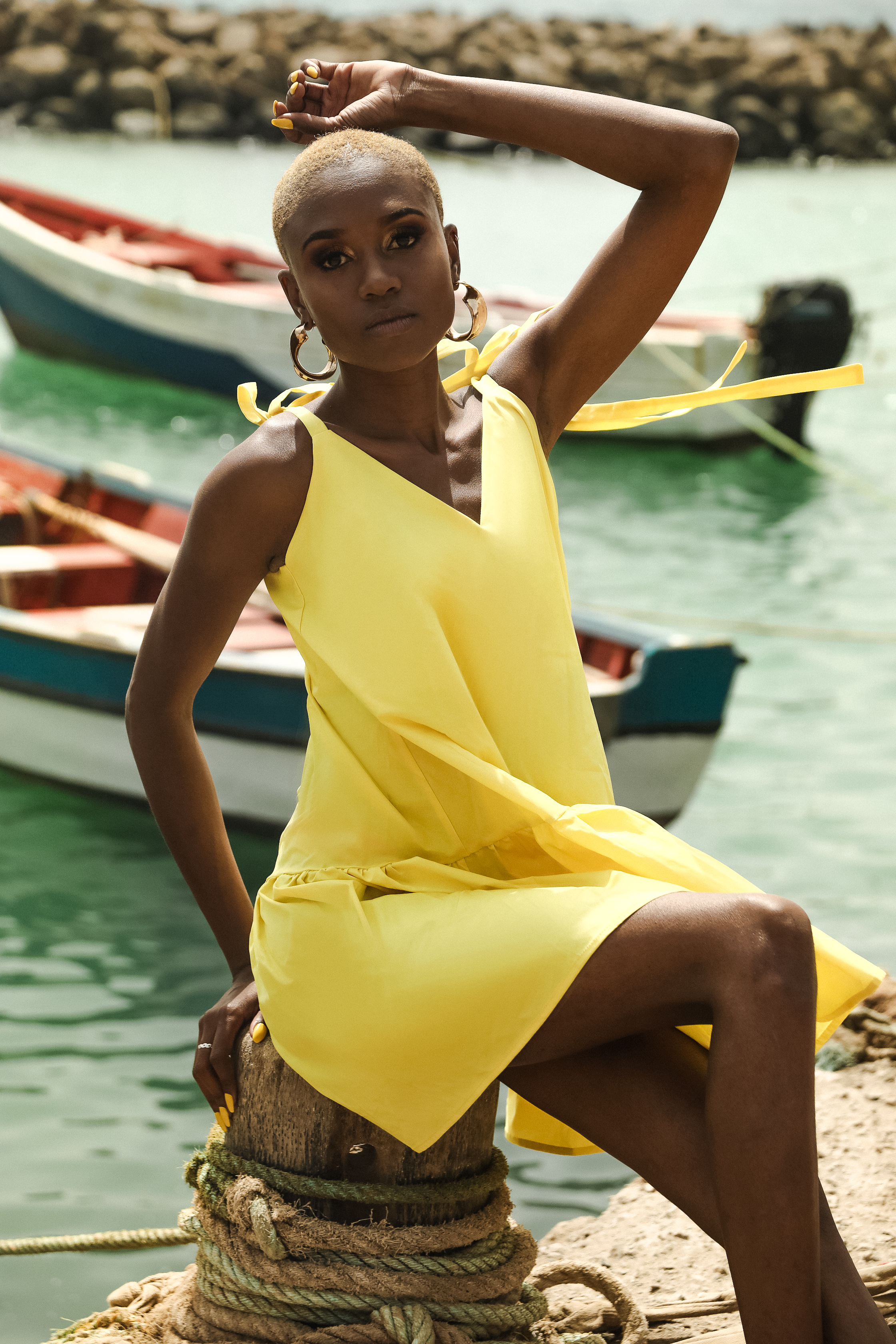 Margo dress by Monica Nera on curated-crowd.com